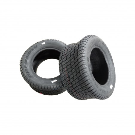 TWO New 22X9.50-12 Carlisle Turf Master Tires 4 ply TL