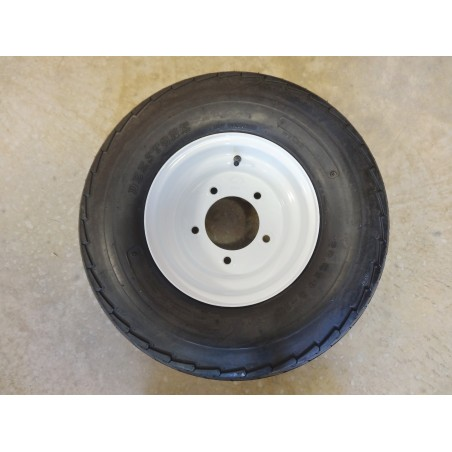 """20.5X8.0-10 Tracker Pontoon Boat Trailer Replacement 12 PLY Tire/Wheel 5 lug on 5.5"""" bolt circle"""
